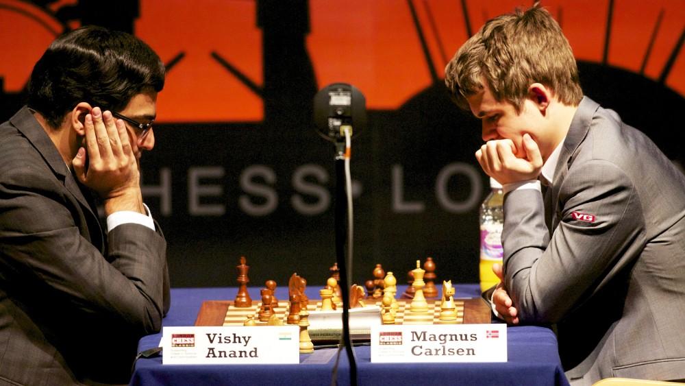 Neutral Venue Please Carlsen To Nrk Chess Magazine Black And White