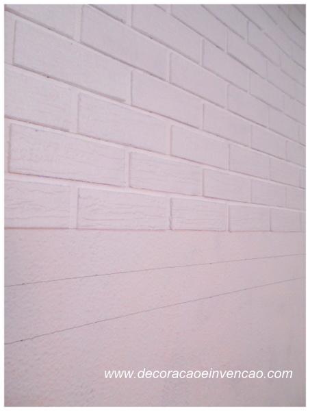 parede de tijolos passo a passo