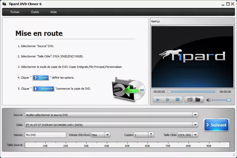 تحميل برنامج Tipard DVD Cloner 6.2.36 لنسخ أقراص DVD