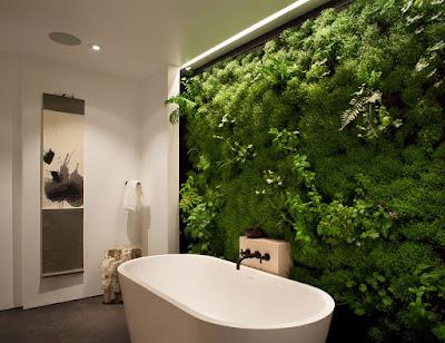 Idea para decoración de baños