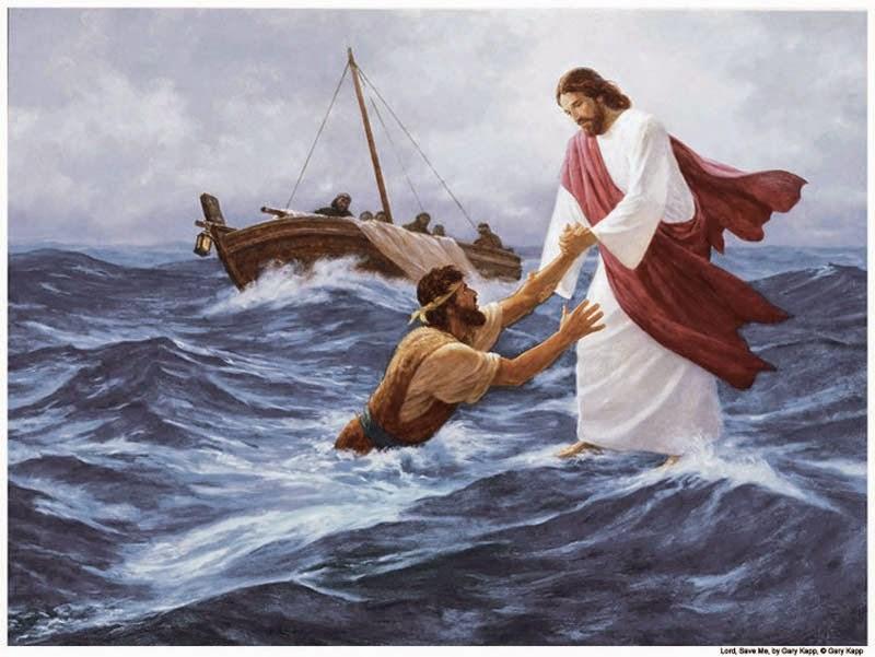 Câu chuyện Ðức Giêsu đi trên mặt nước
