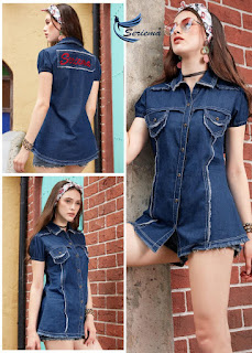 Seriema Carbone Denim Short top catalog wholesaler