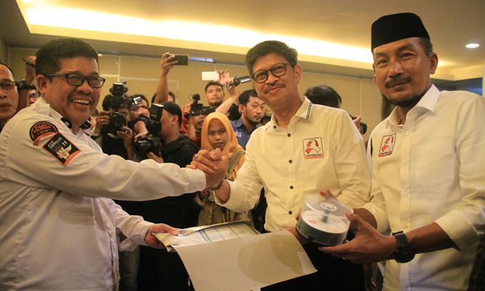 KPU Akui Banyak Berkas Dukungan IYL-Cakka 'Hilang'