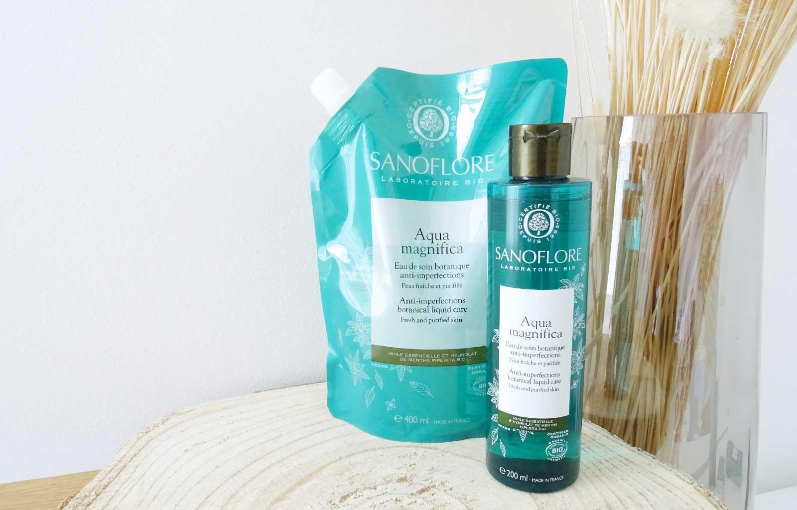 soins anti-imperfection Magnifica Sanoflore aqua magnifica lotion