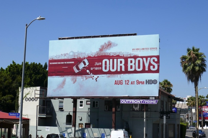 Our Boys HBO miniseries billboard