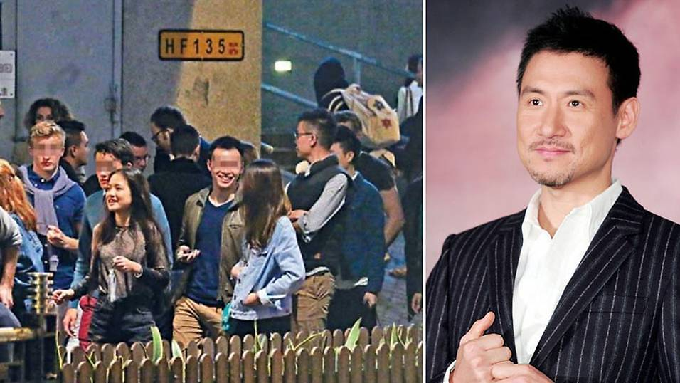 English Pop Station Jacky Cheung S Elder Daughter Seen In Central