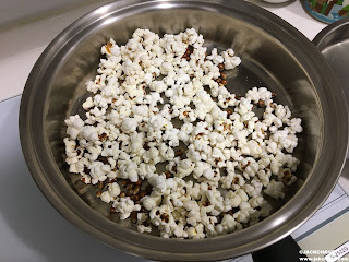 Jack's' Unprofessional Cooking Oil-free popcorn, natural health without burden.