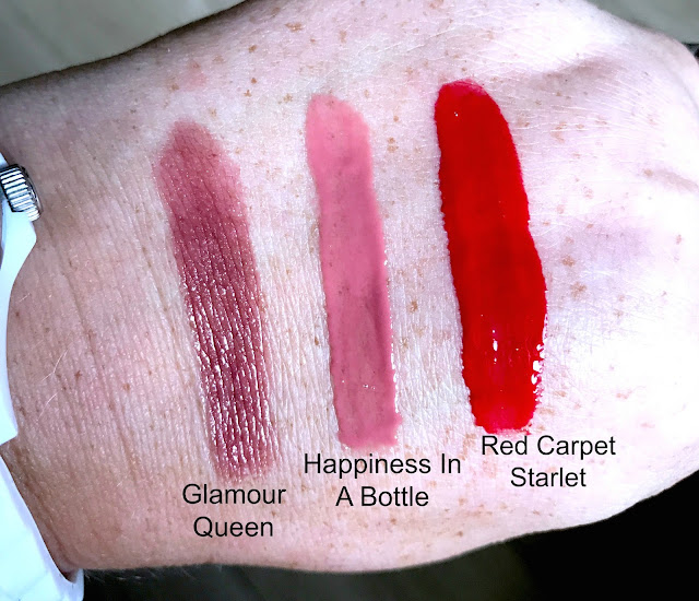 Swatches Of The Essence Shine Shine Shine Lip Products
