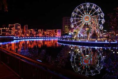 tempat menarik di Melaka River Cruise waktu malam