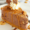 EASY NO BAKE SNICKERS CHEESECAKE