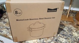 Momscook 8-Quart Classic Stainless Steel Covered Stockpot