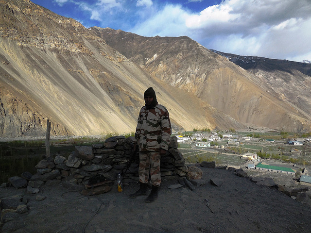 ITBP posted to keep watch on border