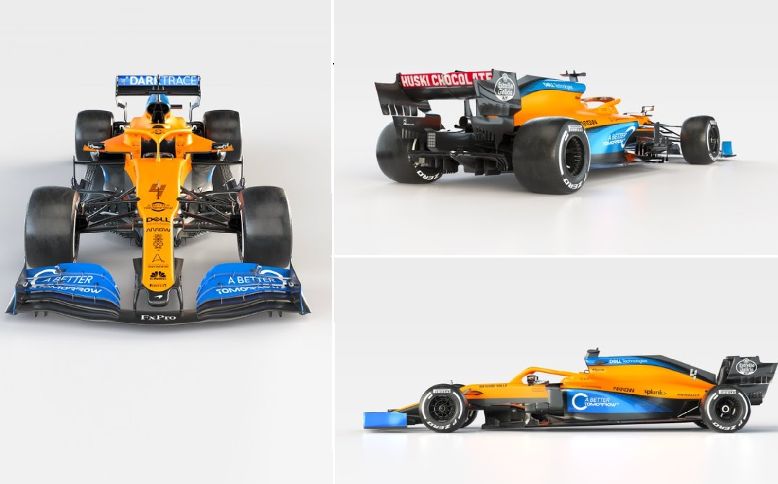 McLaren F1 car design 2020