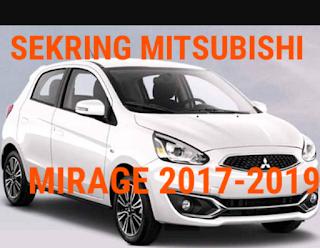 tempat sekring MITSUBISHI MIRAGE 2017-2019