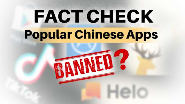 Indian Government Banned All Chinese Apps Including, TikTok, ShareIt, UC Browser & 56 Others