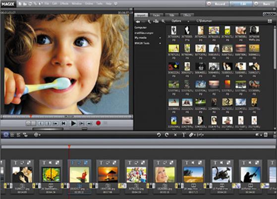MAGIX Video deLuxe إحترافية تحرير الفيديوهات إضافة تأثيرات video editing softwars