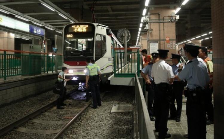 Terjadi Tabrakan Antar MTR di Yuen Long,5 Penumpang Terluka