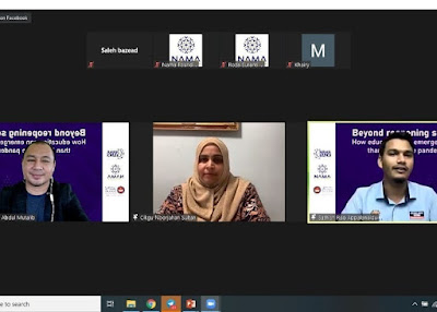 Webinar NAMA Talk 2020: Pendidikan Selepas Pandemik
