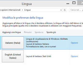 cambio lingua windows, mac, chrome, google, firefox