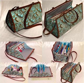 Quiltessa Patchwork Palette Quilters Organizer Bag One