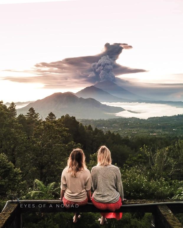 Emilio Kuzma-Floyd captures a shot of Mount Agung. (Emilio Kuzma-Floyd)