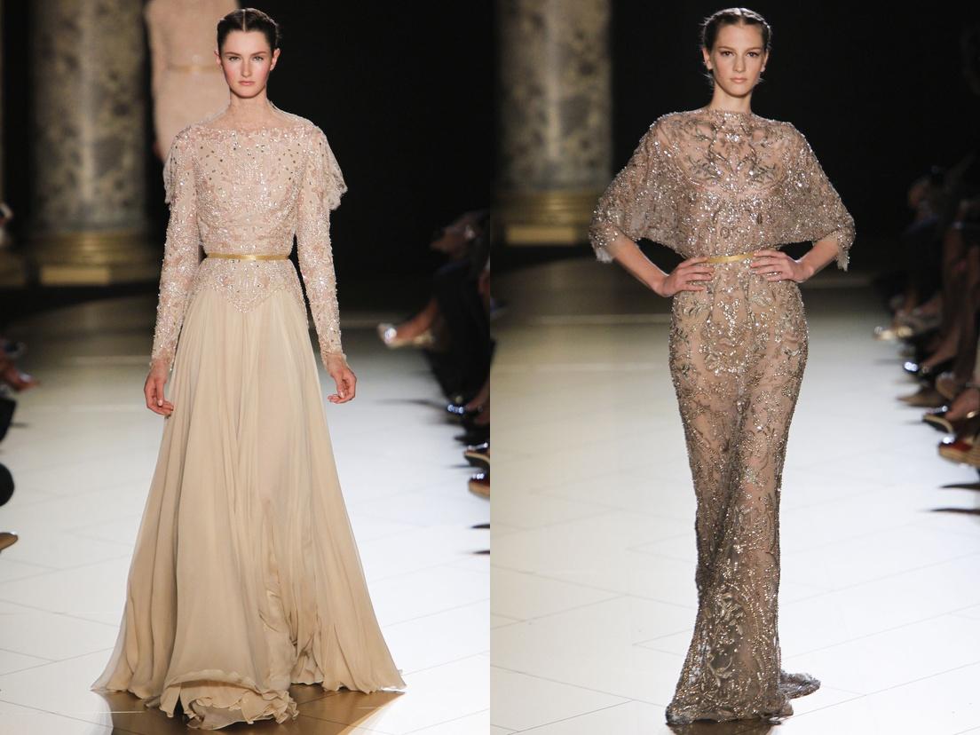 Elie Saab Gowns Collection At Paris Haute Couture Fashion