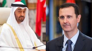 موقع بريطاني يكشف عن صفقة بمليارات الدولارت بين بن زايد والأسد ضد تركيا