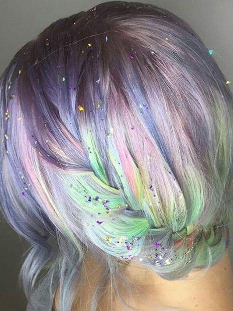 cabello glitter 2017