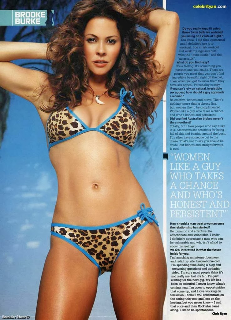 Brooke Burke Sexy Photos