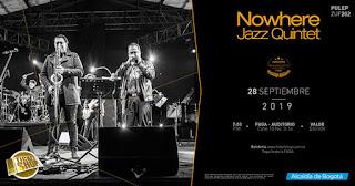 Concierto Nowhere Jazz Quintet en FUGA 2019