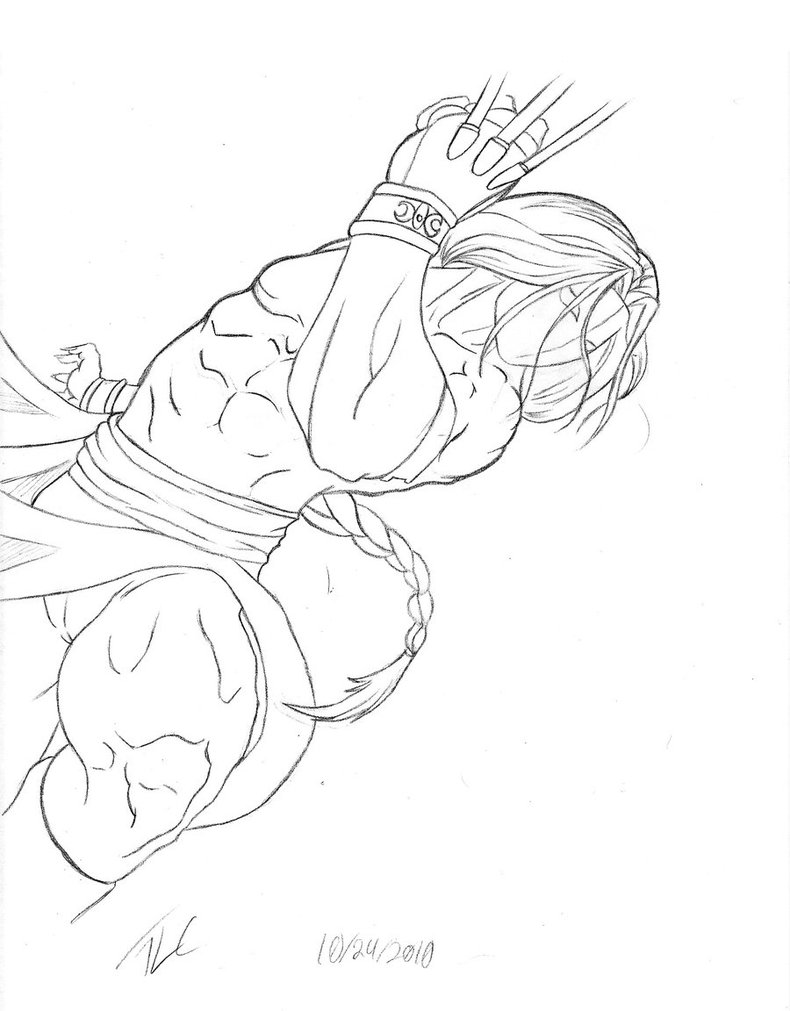 street fighter coloring pages - photo#31