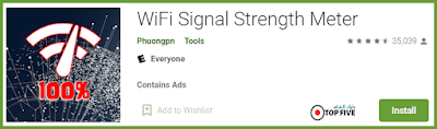 تطبيق WiFi Signal