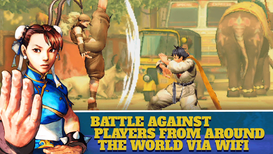 Street Fighter IV Champion Edition v 1.02.00 apk mod DESBLOQUEADO