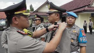 Kapolres Cirebon Kota Pimpin Langsung Sertijab Kasat Narkoba