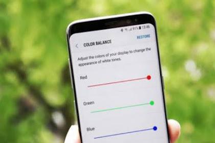 Cara Mengatur White Balance Pada Samsung Galaxy S8 Dan S8+