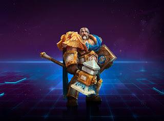 Heroes of The Storm łatwe postacie na start do gry Uther