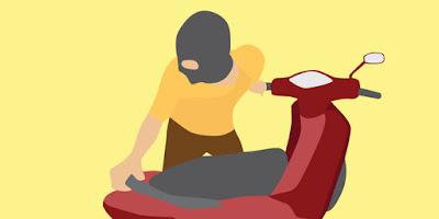 Ditinggal Mencari Rumput, Sepeda Motor Milik Sudiasmoro Hilang Dicuri Maling