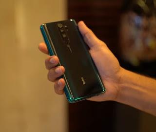 Redmi Note 8 Pro green colour