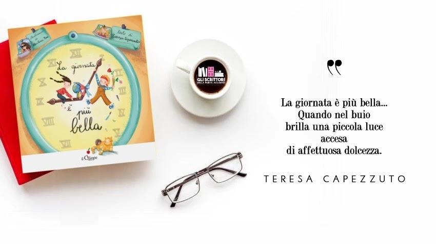 La giornata è più bella, un albo illustrato per bambini di Teresa Capezzuto