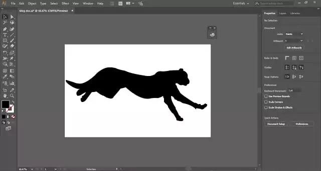 Silhouette-in-illustrator-tutorial