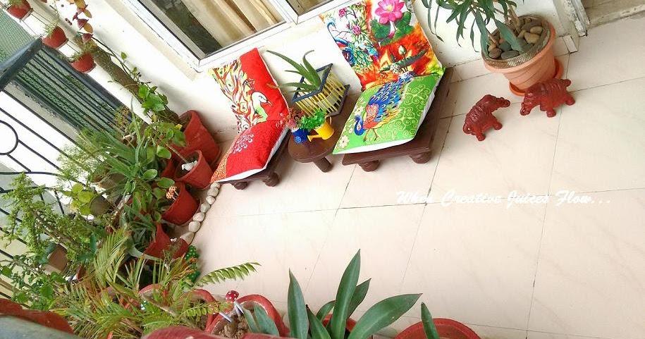 When creative juices flow welcome to my balcony garden - Balcony garden designs india ...