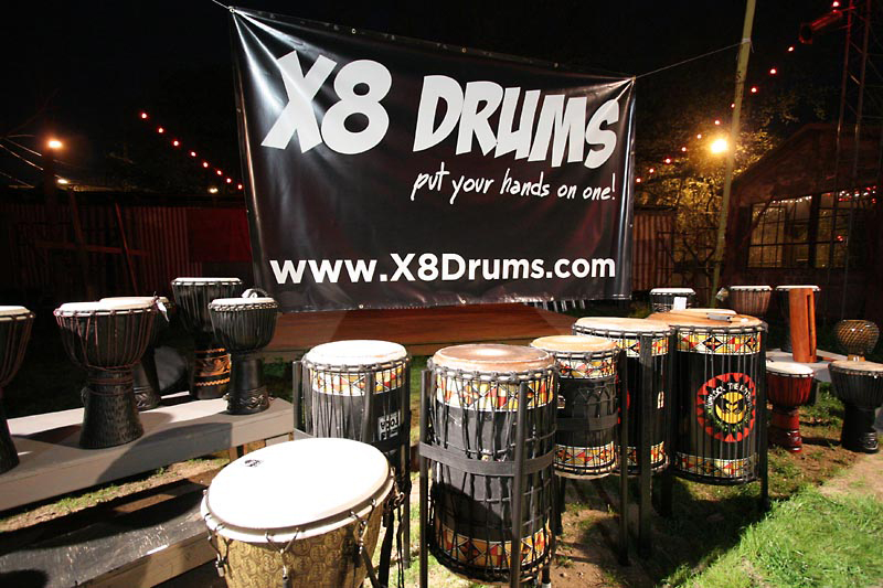 X8 Drums at the SXSW Music Gear Expo 2013 - X8 Drums