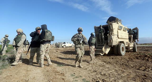 مقتل أمريكيين وبريطاني وإصابة 12 آخرين إثر هجوم صاروخي في العراق