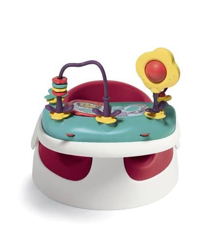 كرسي أطفال بصينية ألعاب – أحمر من موقع ماماز اند باباز