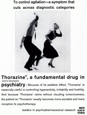 Thorazine to control agitation