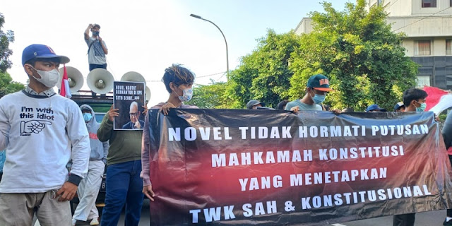 Pendirian Kantor Darurat Novel Dkk di Depan Gedung KPK Tidak Etis