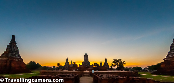 Recently we have been sharing about beautiful temples of Ayutthaya which is UNESCO World Heritage city in Thailand with hundreds of temples spread across the town. Today we shall share about another wonderful temple on river bank - Wat Chai Watthanaram. This blog-post shares some details about Wat Chai Watthanaram, how to reach Wat Chai Watthanaram from various parts of Ayutthaya city, entry ticket for Wat Chai Watthanaram, timings of Wat Chai Watthanaram temples & lot of more.