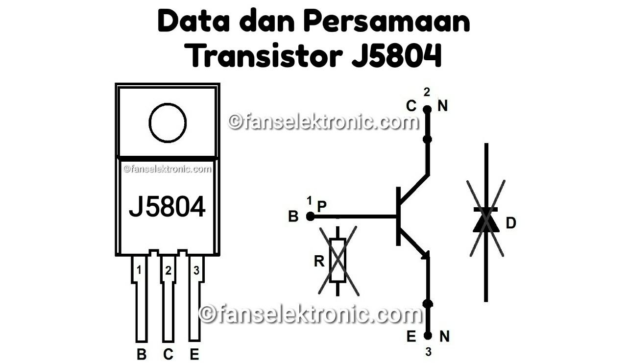Persamaan Transistor J5804