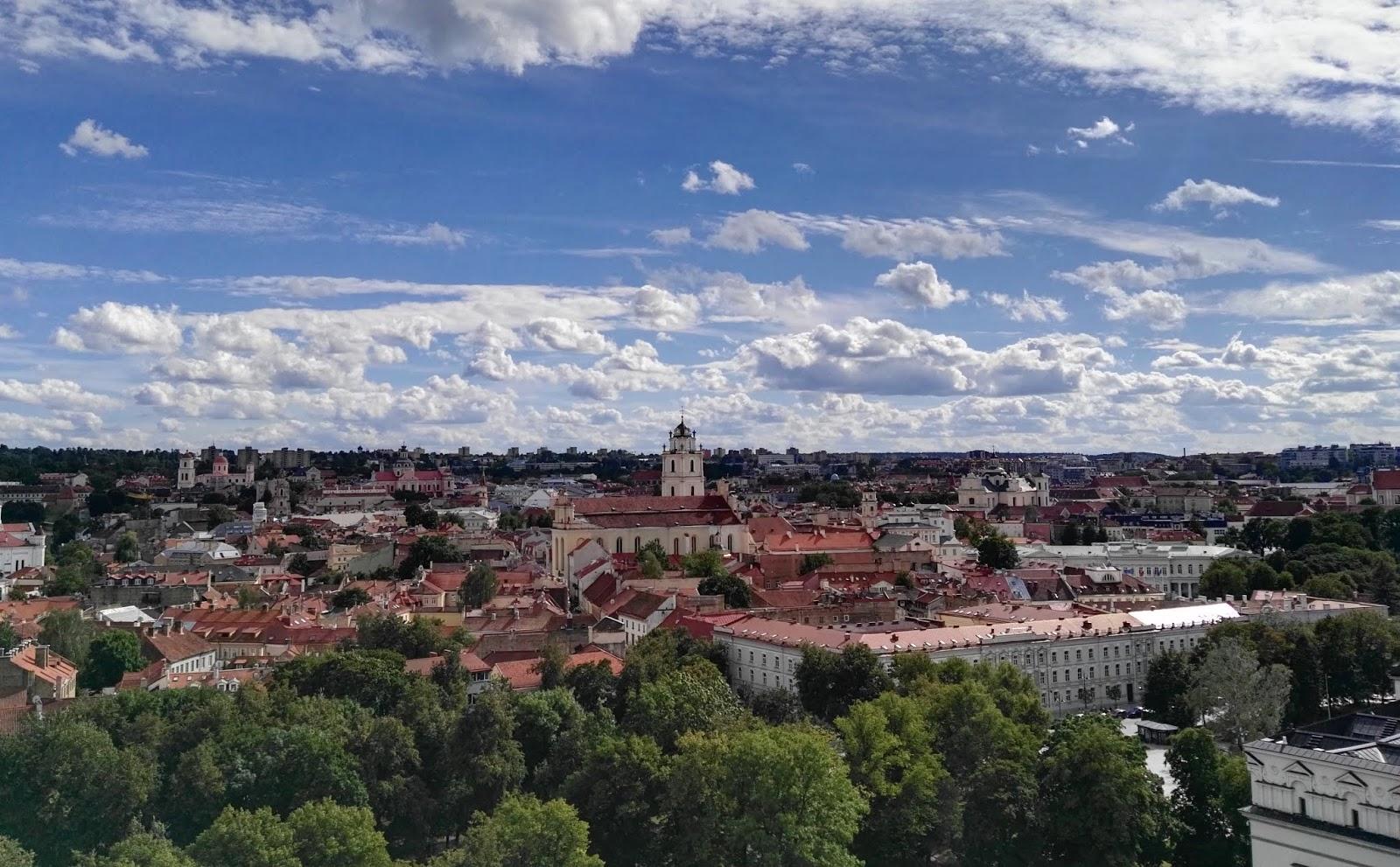 découverte capitale lituanie