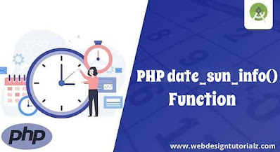 PHP date_sun_info() Function